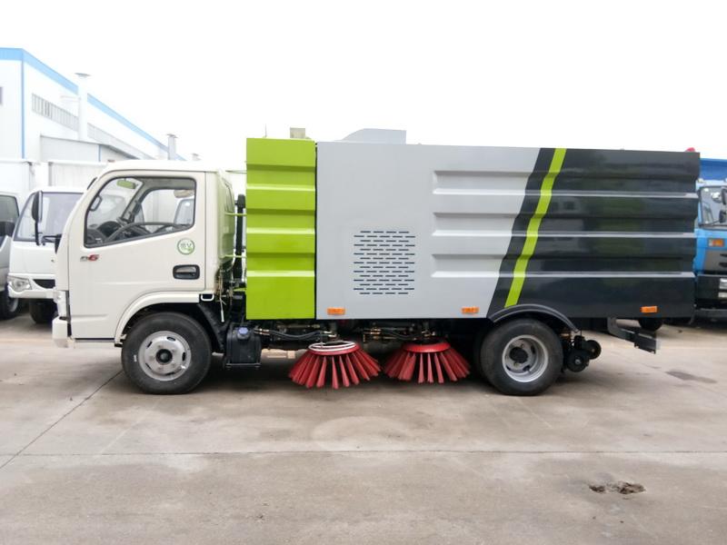 重汽洗扫车价格_时代洗扫车价格_核电厂中型扫路车