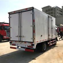 江淮帅铃4.2米海鲜保鲜运输车全国货到付图片
