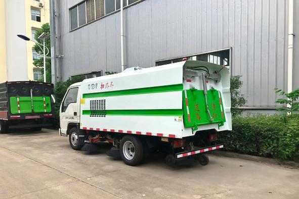 乐山市大型扫路车功能及配置