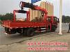 6.3吨至8吨360度全旋转夹砖夹具随车吊价格低全国包上户_25方随车起重运输车厂家