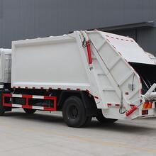 廊坊市玩具垃圾车倒垃圾视频,5图二手东风多利卡压缩垃圾车图片