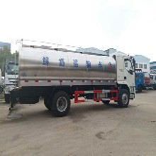鲜奶运输车价格介绍图片