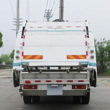 8方压缩垃圾车新款御虎东风10吨垃圾压缩车图片