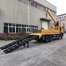 石煤16吨随车吊价格_东风特商T5前四后八随车吊报价图片