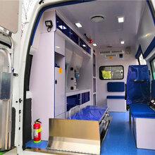连云港市福特新世代短轴高顶监护型救护车报价_大通120救护车图片