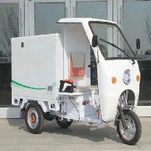电动环卫垃圾车辆新能源电动环卫垃圾车电动垃圾车的后配件