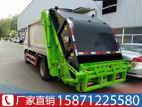 3吨东风压缩垃圾车视频