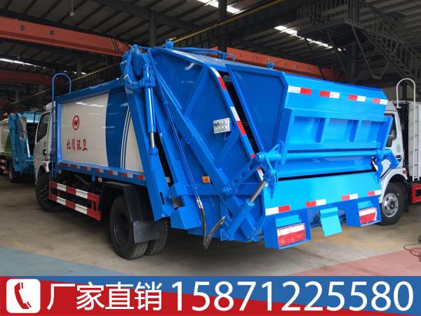 东风5吨挂桶垃圾压缩车容量