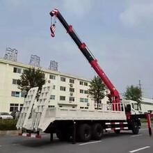 后双桥东风特商T5随车吊多少钱_石煤16吨随车吊图片