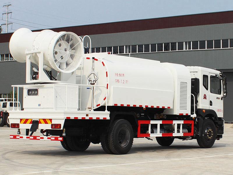 东风153新款10吨雾炮车优惠_新型雾炮机