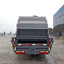 东风5吨多利卡压缩垃圾车图片_压缩式垃圾车图片