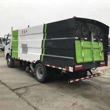 八吨东风多利卡扫路吸尘车_吸尘车作用图片