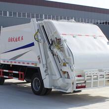 东风5吨多利卡垃圾压缩车_可以压缩的垃圾车价格图片