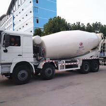 德龙15方陕汽混凝土搅拌车厂家直销_随州搅拌车图片