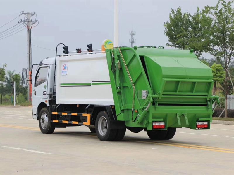 8方东风国六大多利卡压缩垃圾车压缩式垃圾清运车