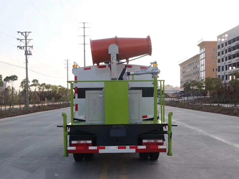 藍牌國六東風4噸抑塵車小型霧炮