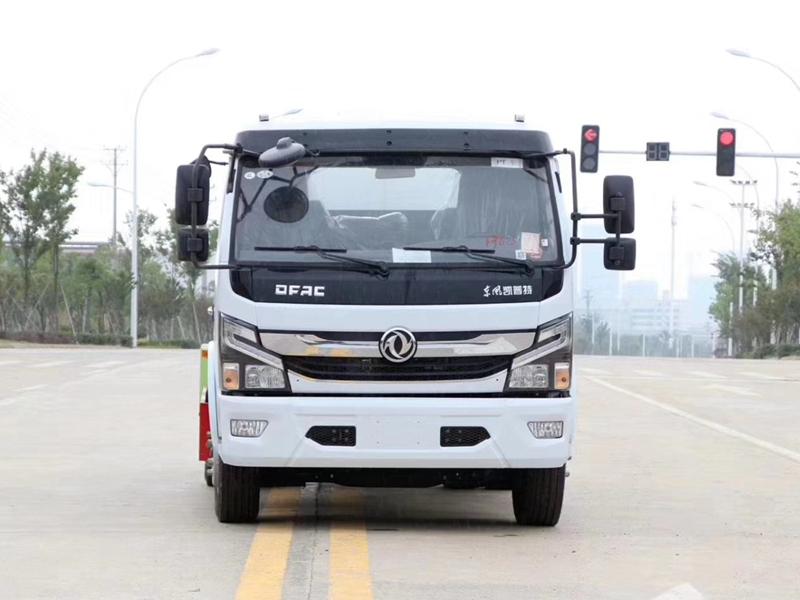 东风国六10吨多功能抑尘车热水车