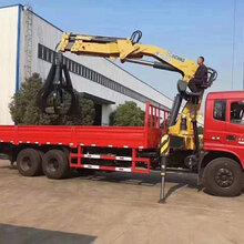 东风T5后双桥12吨14吨随车吊生产基地_大量随车吊现车供应车可分期