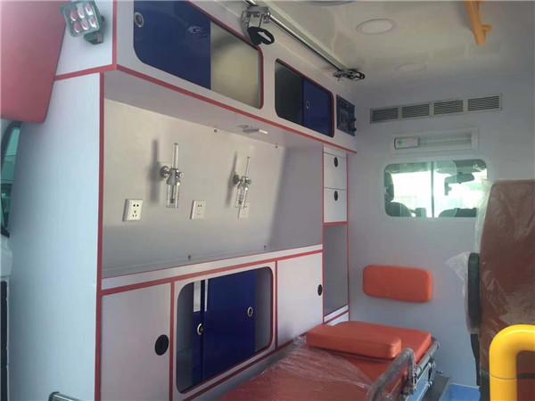 福特医疗救护车可以超速_医疗救护车样子