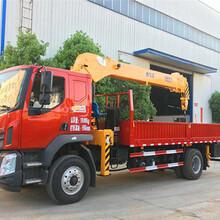 广安市12吨国六随车吊优质产品推荐-12吨宏昌天马随车吊新车价格图片