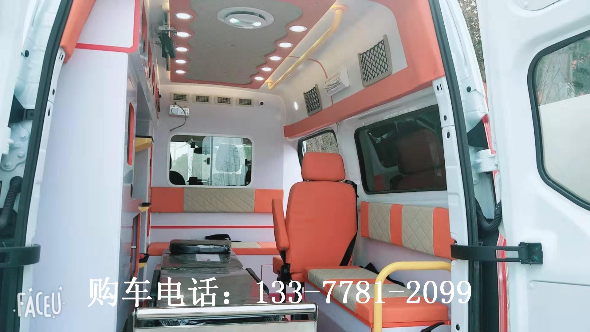 福特V362转运型救护车价格_福特新全顺新时代报价