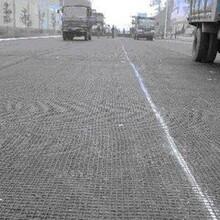 廠家土工格柵道路路基穩固瀝青路面用玻纖土工格柵圖片