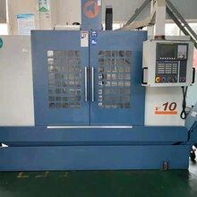便宜出售台湾匠泽V10二手加工中心硬轨机发那科系统2015年出厂图片