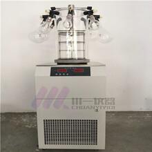 連云港掛瓶型凍干機FD-1C-80小型真空凍干設備圖片
