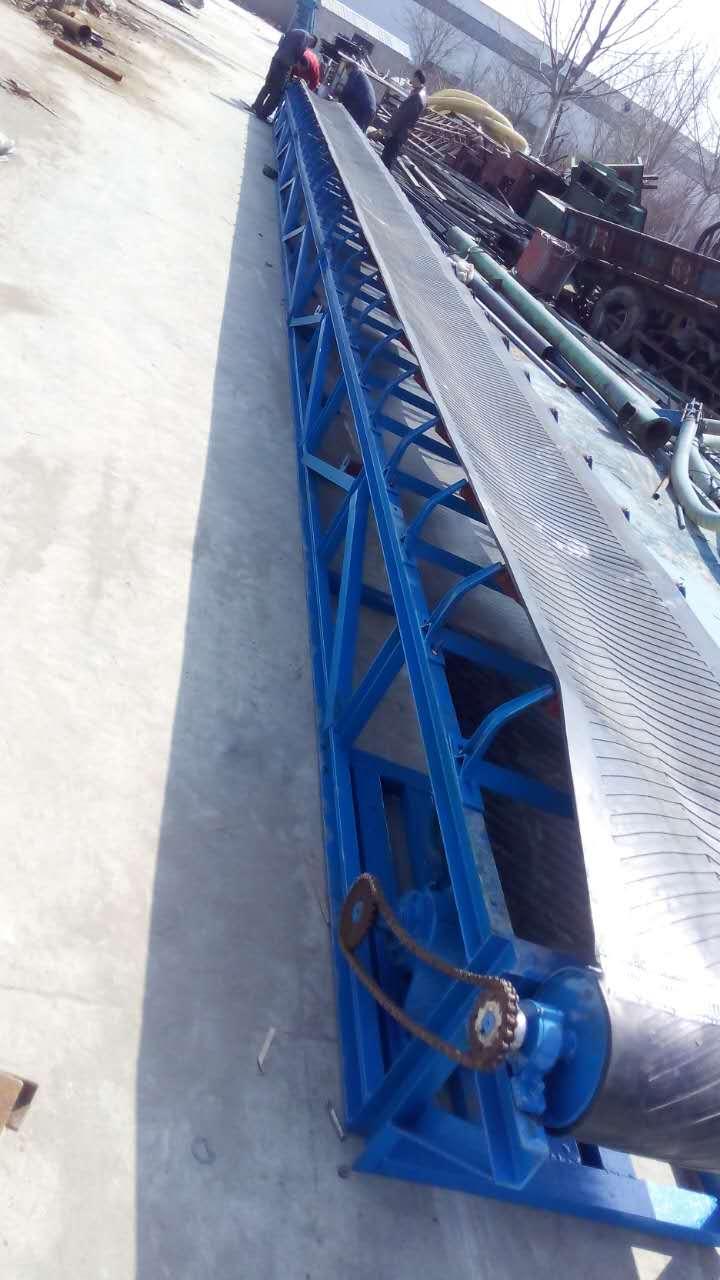 伸缩式输送机出口装车等工作,制动装置选用滚柱逆止器,日用化工等行业图片