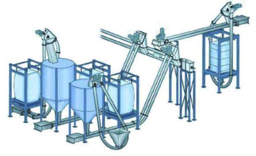 盘片管链输送机结构耐用沙子管链提升机