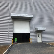 安徽工業提升門,翻板滑升門,廠房工業大門圖片