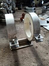 赤峰DN300低能耗隔熱管托J8保溫蛭石隔熱管托支架。
