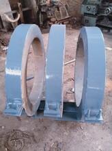 水平管道固定支座滑動管托佰譽DN500蛭石隔熱管托