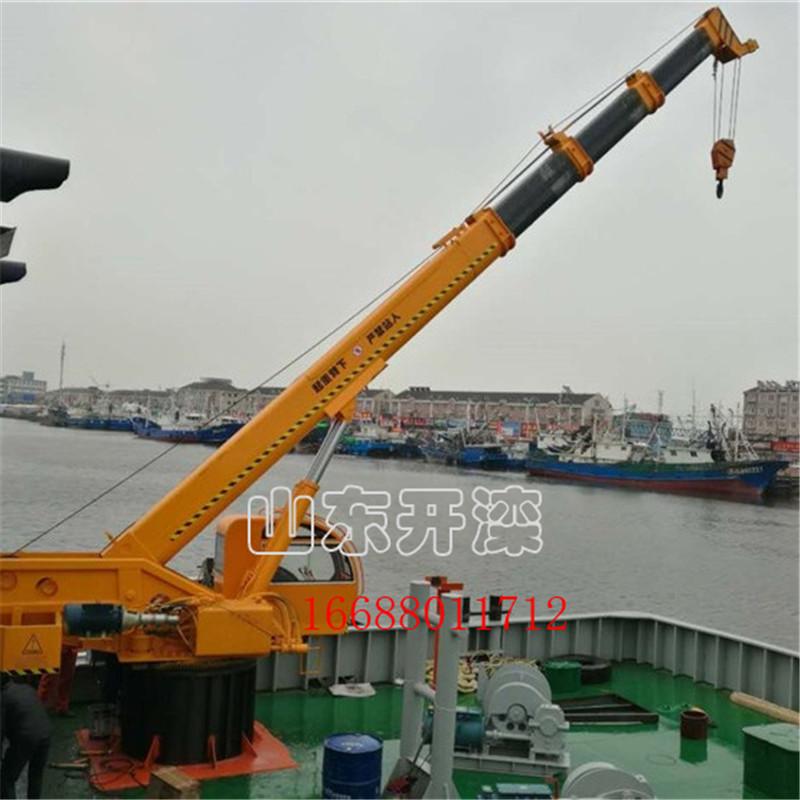 多吨位码头吊小吨位克令吊固定式座吊液压岸吊厂家直供图片