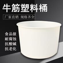 湖北PE敞口圓桶,食品級腌制桶廠家圖片