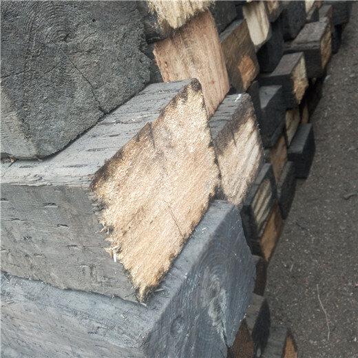 供应枕木垫木承重二手枕木防腐枕木