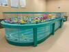 邢臺定制嬰兒游泳池鋼化玻璃游泳池設備造型美觀