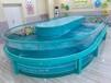 萌貝灣鋼化玻璃嬰兒游泳池永州嬰兒游泳池廠家