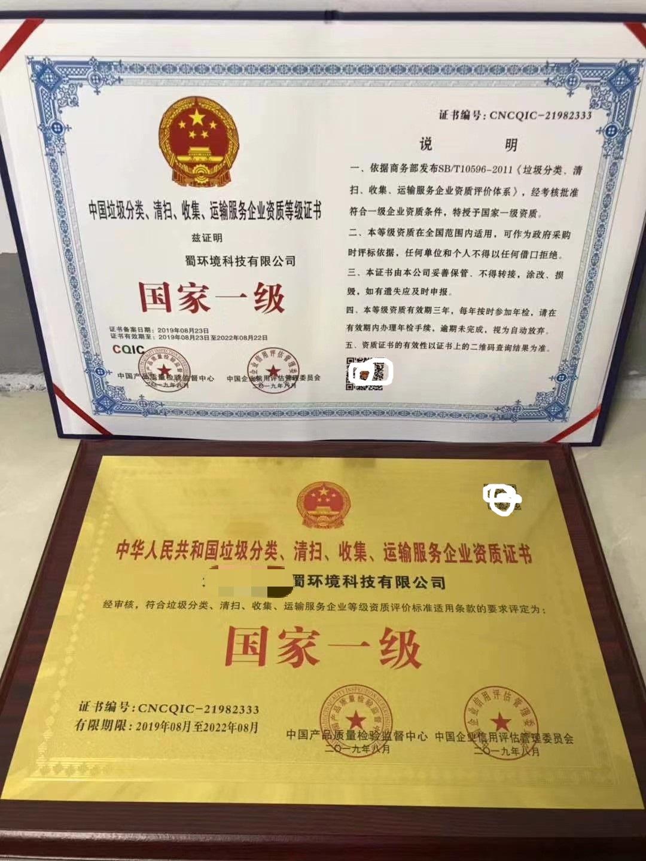 中国垃圾分类清扫收集运..