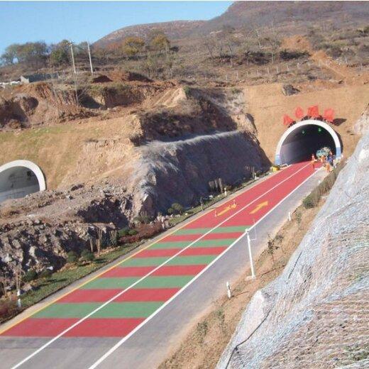 湖北咸宁减速带铺装无振动坡道施工