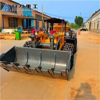 六盤水礦井巷道小鏟車雙搖臂井下礦用鏟車-現貨供應