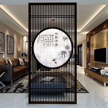 許昌室內黑鈦不銹鋼隔斷屏風咨詢圖片