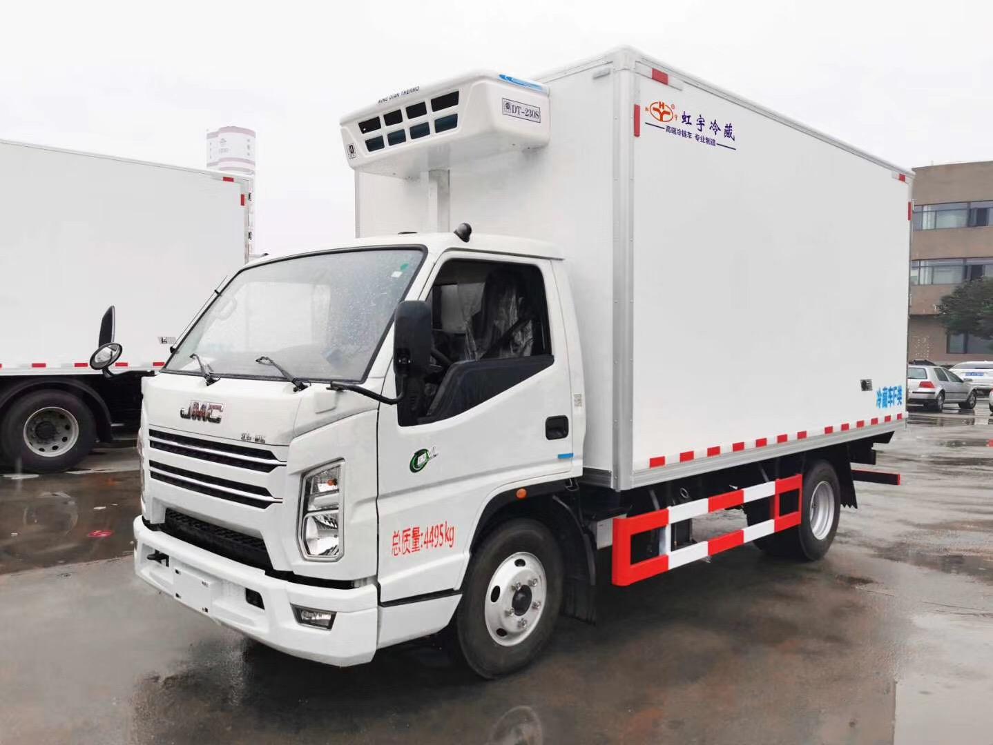 湖北虹宇冷藏车厂家批量出售冷藏车