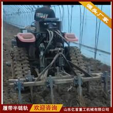 合金钢材质履带半链轨农田作业大棚作业降低土壤压实率图片