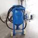 太原移動噴砂罐集裝箱除銹高壓噴砂機