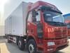 8.7米解放J6L小三軸肉鉤冷藏車