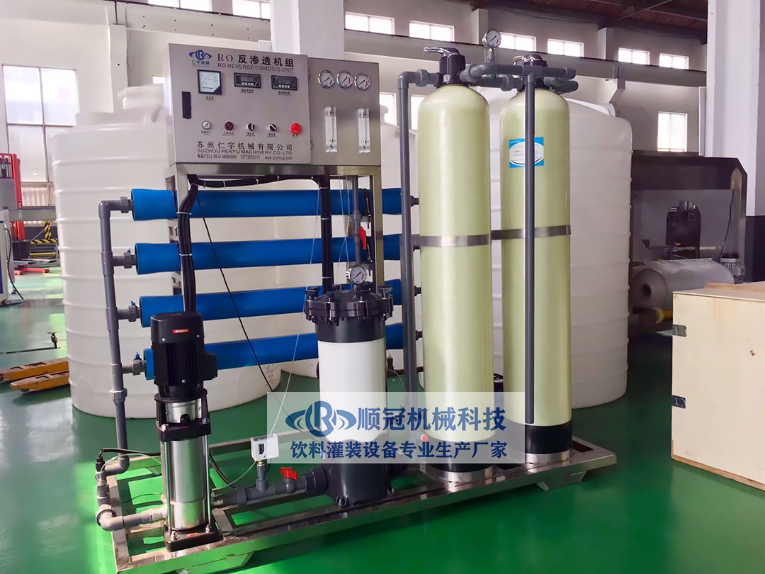 <strong><strong>厂家直销小型水处理设备 反渗透纯净水设备</strong></strong>