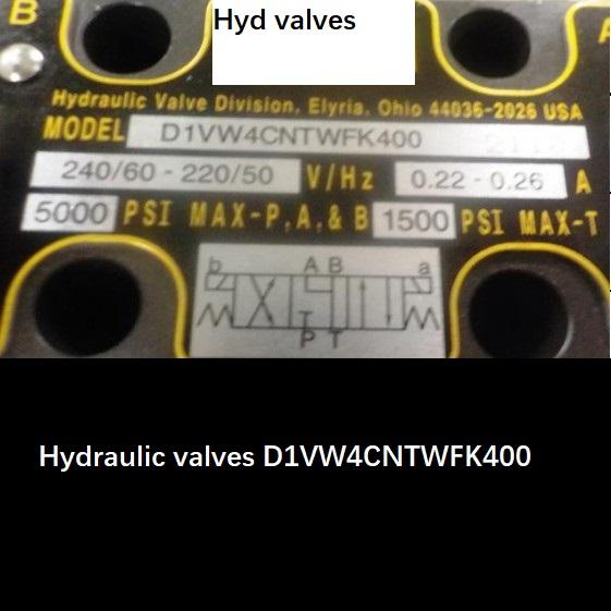 HydraulicvalvesD1VW4CNTWFK400船用液压电磁阀