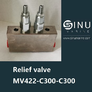 KWERNERReliefvalveMV422-C300-C300液壓閥釋放閥船舶液壓備件