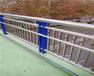 福建莆田不锈钢复合管河道护栏防撞护栏定做预埋处理